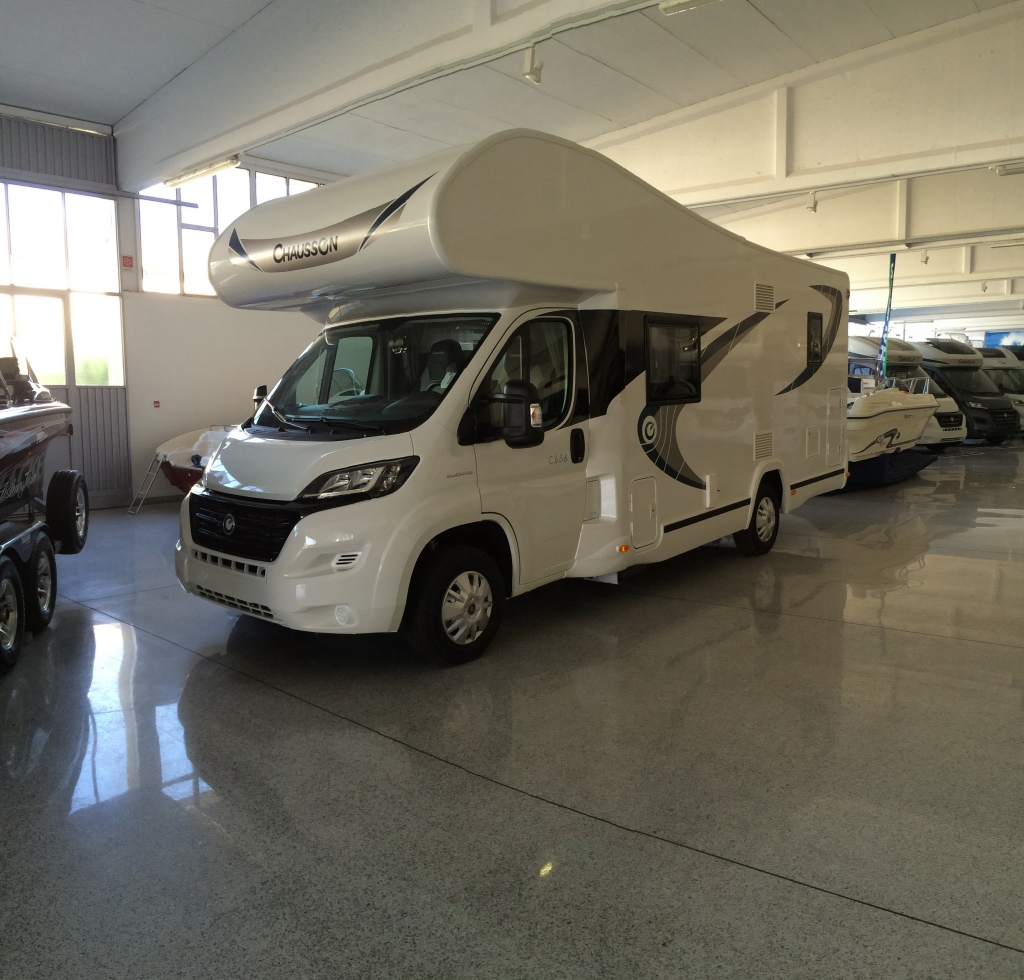 Camper Chausson Flash C 656 venduto