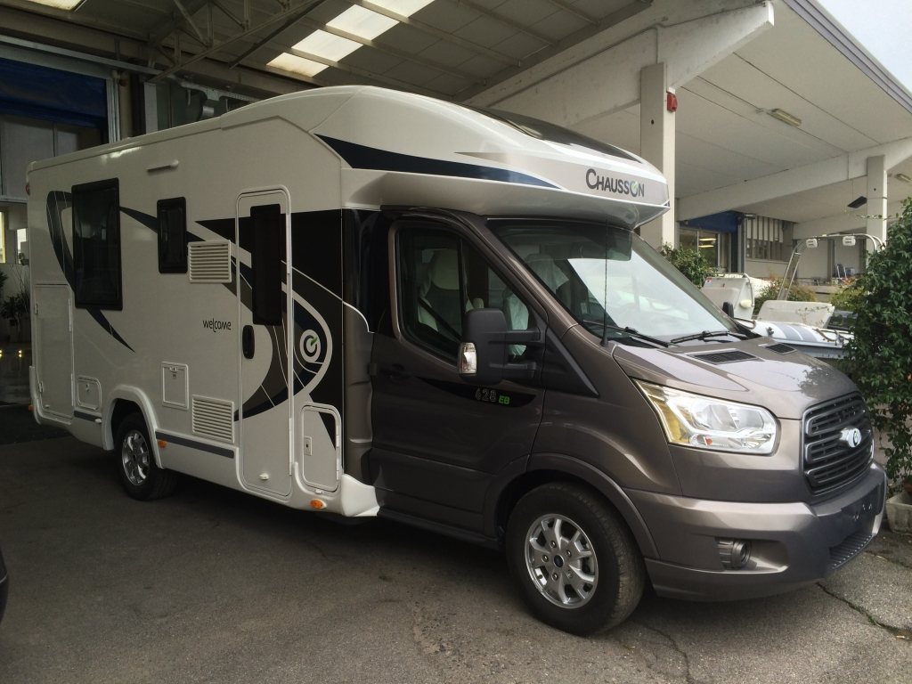 Chausson Welcome 628 EB limited edition camper venduto.