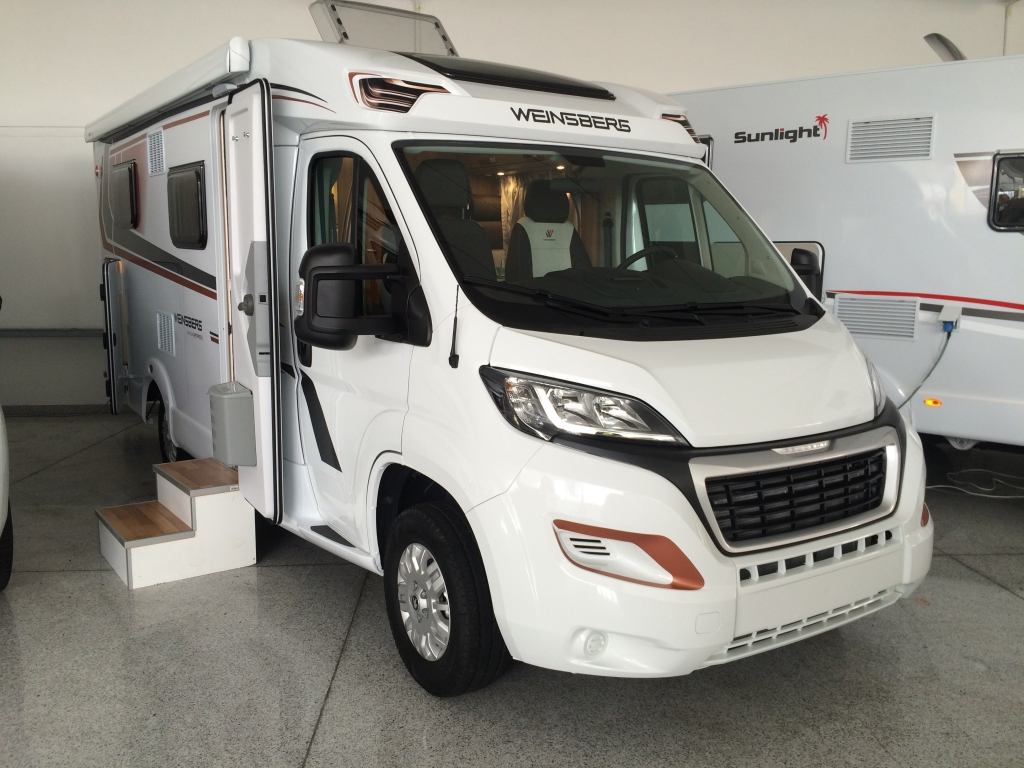 Camper Weinsberg Caracompact 600 MEG Pepper Edition in promozione pronta consegna.