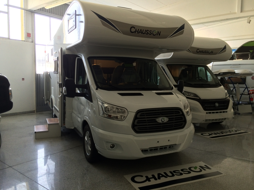 Chuasson Flash C714GA camper venduto.