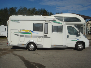 CHAUSSON WELCOME 57 camper usato