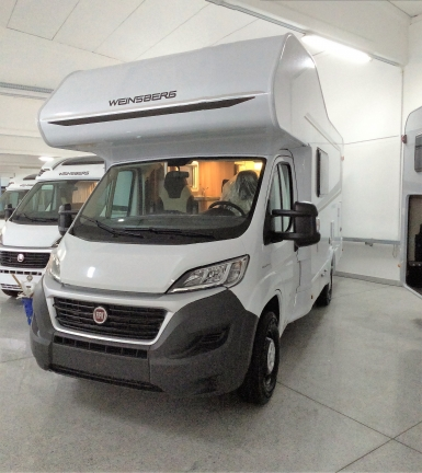 Weinsberg Carahome 600 DKG pronta consegna