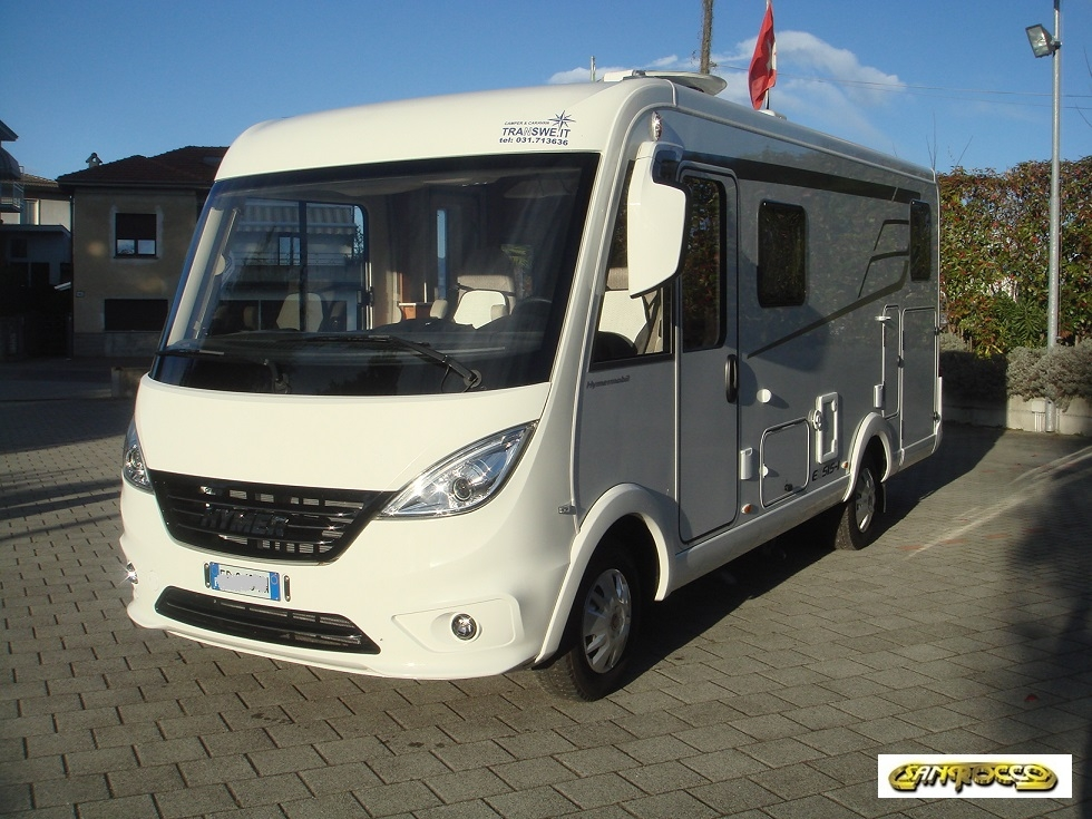 Motorhome Hymer Exis I 474